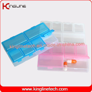 Nice Plastic 6-Cases Pill Box (KL-9112) pictures & photos