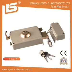 Security High Quality Door Rim Lock (111A-A) pictures & photos