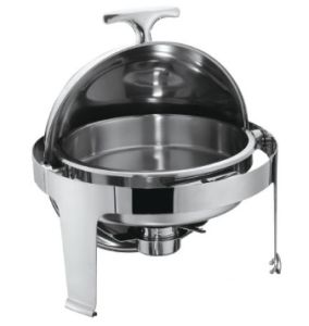 Round Roll-Top Chafing Dish W/36cm Food Pan 6LTR (22036D) pictures & photos