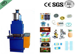 Automatic Plastic Rubber PVC Phone Holder Injection Machine pictures & photos