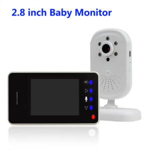 2.8 Inch Wireless 2.4G Baby Monitor with Night Vision for 24 Hours Baby Care pictures & photos