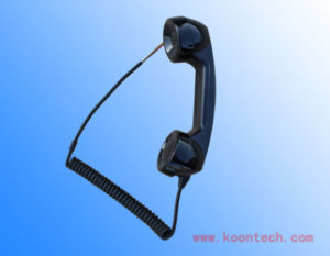 Koontech Curl Cable Handset of Emergency Telephone T3 pictures & photos