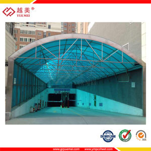 Colored Polycarbonate Sheet Garage Polycarbonate Roofing