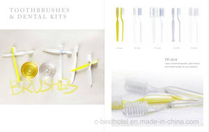 Disposable Hotel Toothbrush and Toothpaste Dentail Set pictures & photos