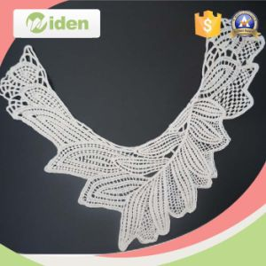 100 % Cotton Water Soluble Embroidery Collar Neck Lace pictures & photos