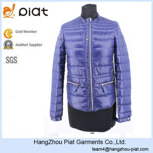 2016 New Design Womens Zipper Polyamide Womens Winter Jacket
