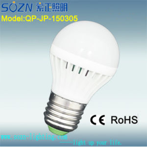 5W LED Light Bulb with B22 E27 Certificate