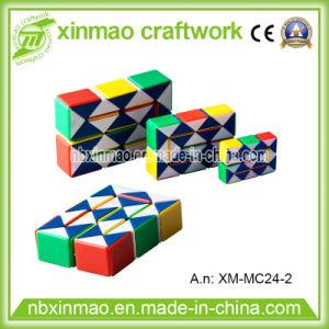 89ccfba0ac1e1 24 Links Plastic Magic Snake Puzzle with 3D Puzzle