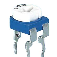 RM065 Blue and White Variable Potentiometer Electronic Component
