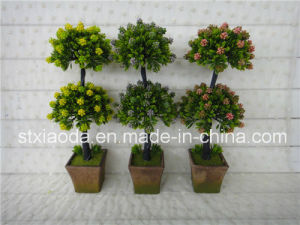 Artificial Plastic Potted Tree (XD14-123)