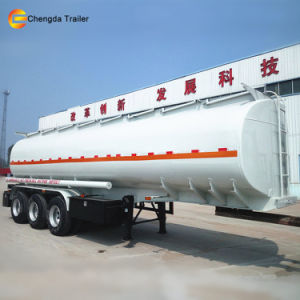 3 Axle 45000liters 40000L Fuel Tanker Tank Trailer for Sale pictures & photos