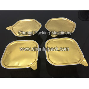 Auto Aluminium Tray Sealing Machine pictures & photos