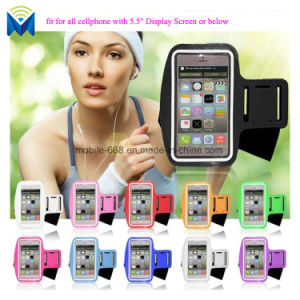 Universal Case Fitness Gym Running Belt Sports Armband for iPhone Samsung All 5.5 Mobile Phones