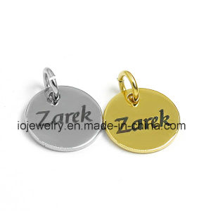 Custom Fashion Jewelry 316 Stainless Steel Logo Tag pictures & photos
