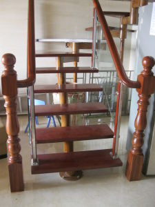 China Steel Staircase Design Indoor Decorative Stainless Steel