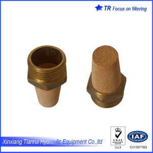 Copper Powder Sintering Air Muffler pictures & photos