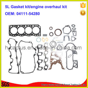 5L 04111-54280 Engine Rebuilding Kits Overhaul Kit Engine Gasket Kit for Toyota