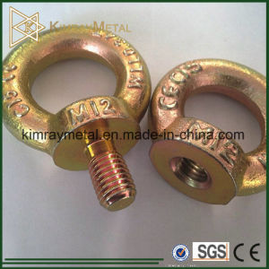Electro Galvanized Collared Eye Bolt DIN580