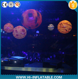 2016 Hot Sale Inflatable Planet Inflatable Moon Inflatable Sun for Event, Stage, Club Decoration