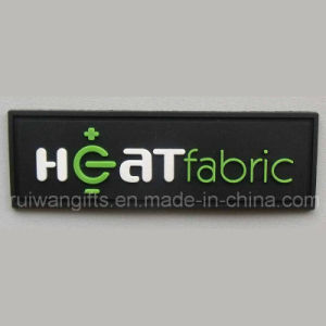 Custom 3D PVC Patch Clothing Rubber Label pictures & photos