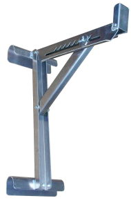 Aluminum Long Body 3 Rung Ladder Jack