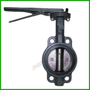 Grey Iron Wafer Butterfly Valve BS En 558 Series 20