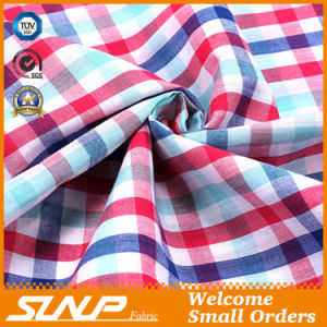 2016 New Design Plaid Fabric for Dress and Shirt
