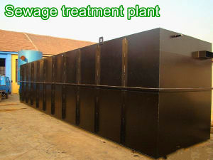 Domestic Sewage Treatment Plant---Mbbr