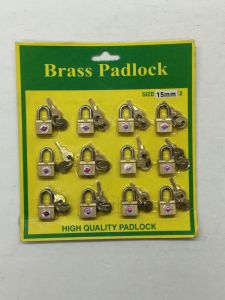 2014 High Quality Fashion Hot Sale Brass Padlock Set pictures & photos