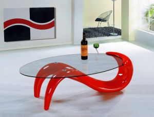 Modern High Quality Fiber Glass Coffee Table pictures & photos
