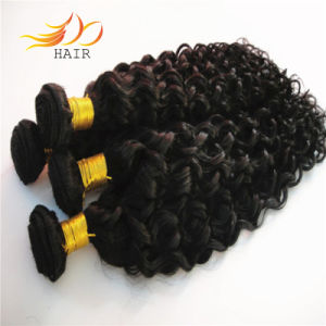 6A Unprocessed Natural Color Malaysian Virgin Human Hair Weft pictures & photos