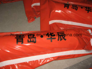 Industrial PVC Oil Containment Boom/Fence, Float PVC Oil Boom pictures & photos