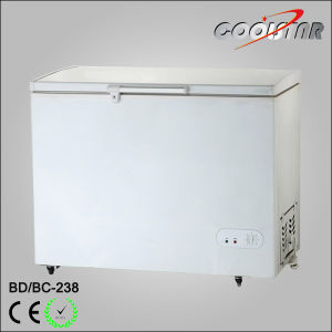 238L Wholesale Chest Freezer with Foaming Door pictures & photos