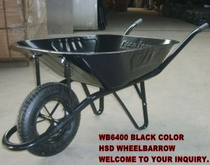 Hot Sale Wheelbarrow (Wb6400) for Africa/MID East Market