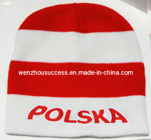Football Knitted Hat (SS12-CK273) pictures & photos