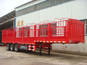 Ctac Brand Hot Selling Tri-Axles 20tons-100tons Animal Transport Semi Trailer