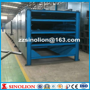 Stainless Steel Conveyor Mesh Belt Dryer for Drying Wood Chips
