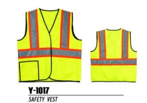 Jinhan Wide Reflective Tape Safety Vest (Y-1017)