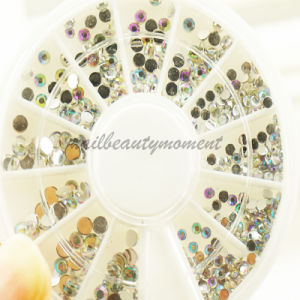 Nails Art Crystal Ab Rhinestone in Wheel Beauty Accessories (D59)
