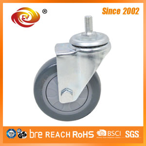 4 Inch Single Bolt Hole Swivel Caster