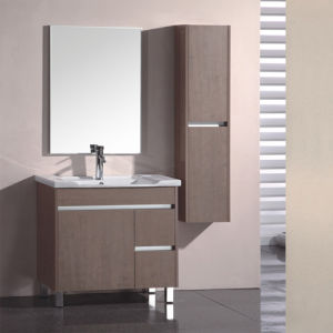 Melamine Surface Bathroom Vanity with Good Quality (SW-ML154) pictures & photos
