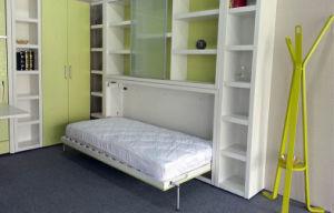 murphy bed office desk. single horizontal wall bed, murphy folding bed with office desk