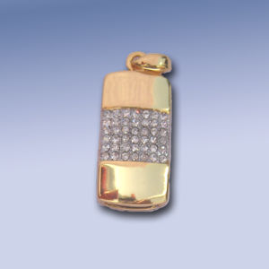 Jewelry USB Pen Drive Tapered-Shaped pictures & photos