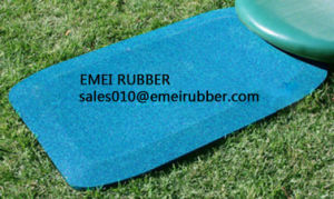 Playsets Protective Rubber Standard Wear Pad pictures & photos