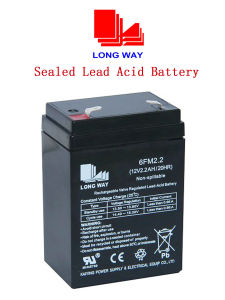 12V2.2ah Lighting System Sound Equipment Rechargeable Sealed Lead Acid Battery pictures & photos