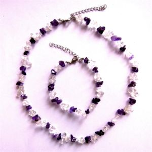 Semi Precious Stone Necklace, Semi Precious Stone Necklace, Crystal Necklace <Esb01336> pictures & photos