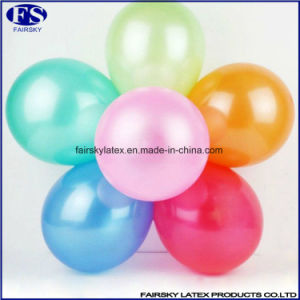 2017 New Product Cheap Fashion Toys 10 Inch Standard 100% Latex Round Balloon pictures & photos