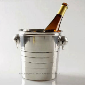 Wholesale Beverage Metal Stainless Steel Wine Ice Bucket pictures & photos