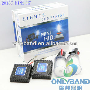 New Auto All in One HID Kit AC Mini HID-2018c H7