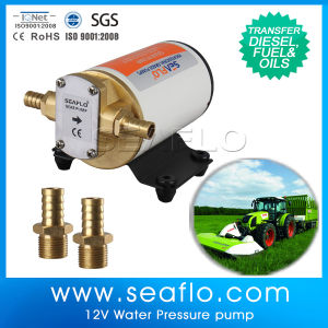 Portable Seamless Shell Design Mini Fuel Transfer Pump pictures & photos